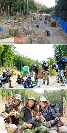 AK-47サバイバルゲームフィールド