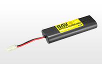 8.4V 600mAh ミニバッテリー SDタイプ