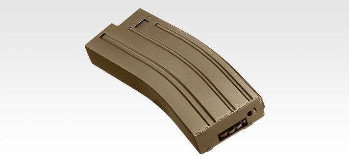 電動ガンBOYs SCAR/M4用140連射マガジン フラット・ダークアース