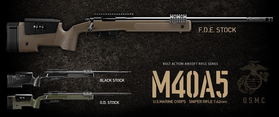 M40A5 ブラックストック