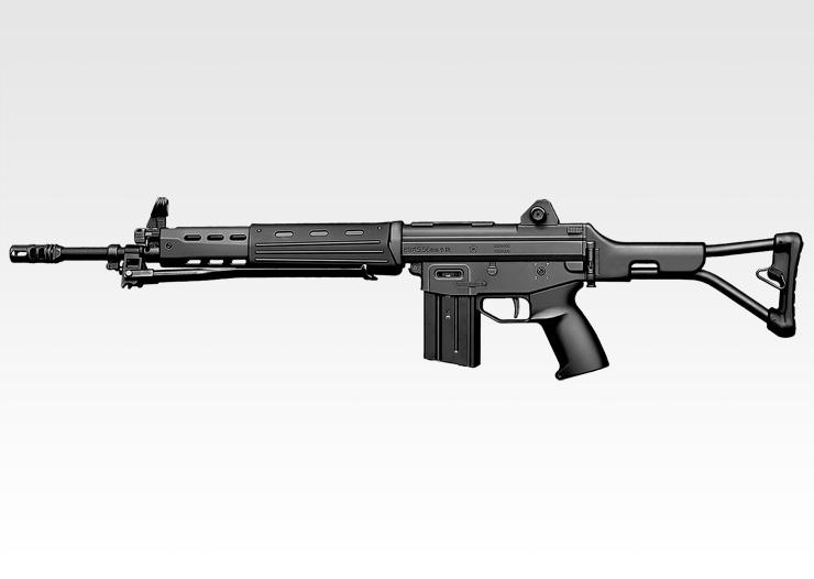 89式5.56mm小銃〈折曲銃床式〉 -...
