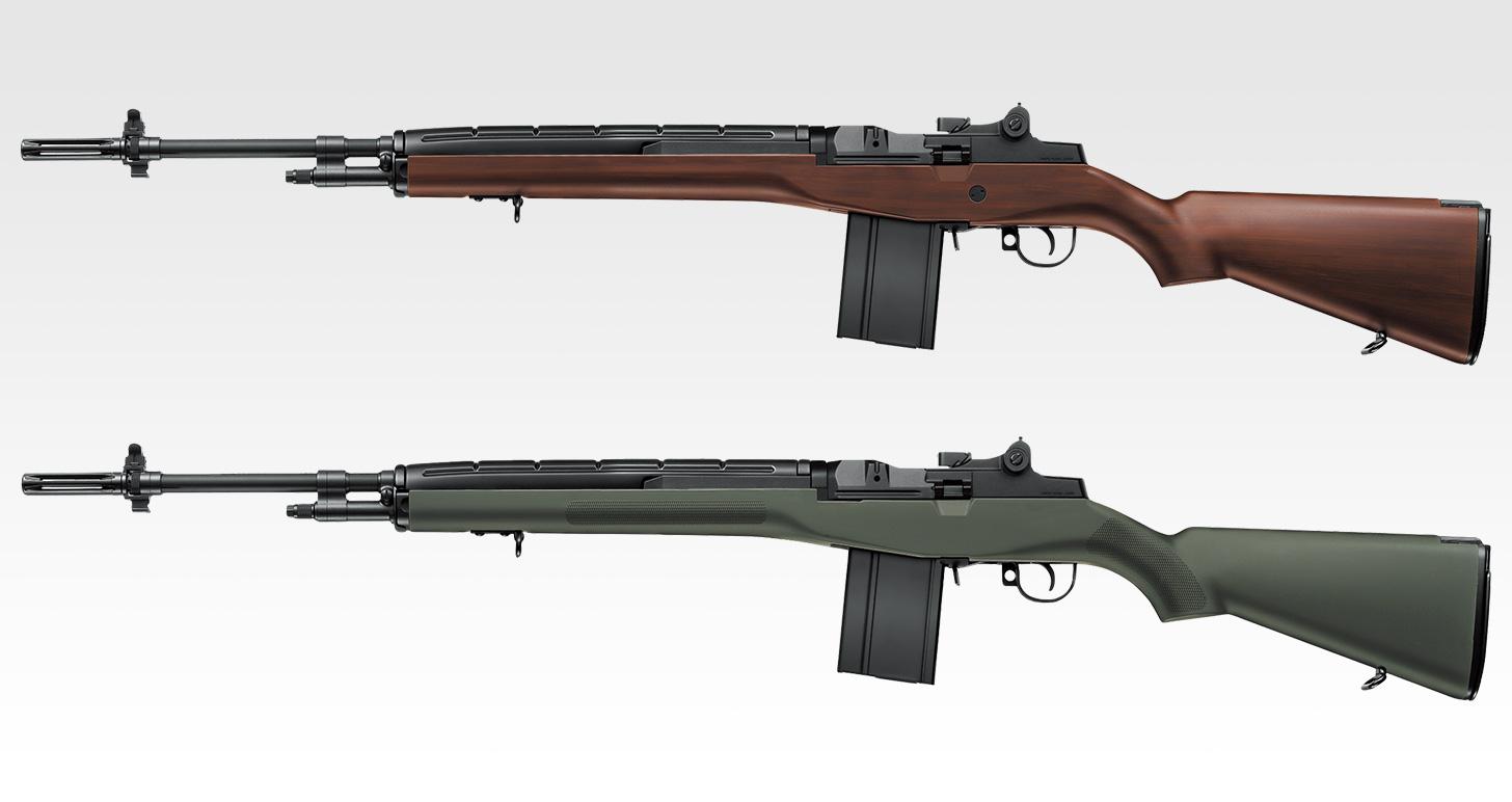U.S.ライフル M14 ウッドタイプストックver.  / ファイバータイプO.D.ストックver.