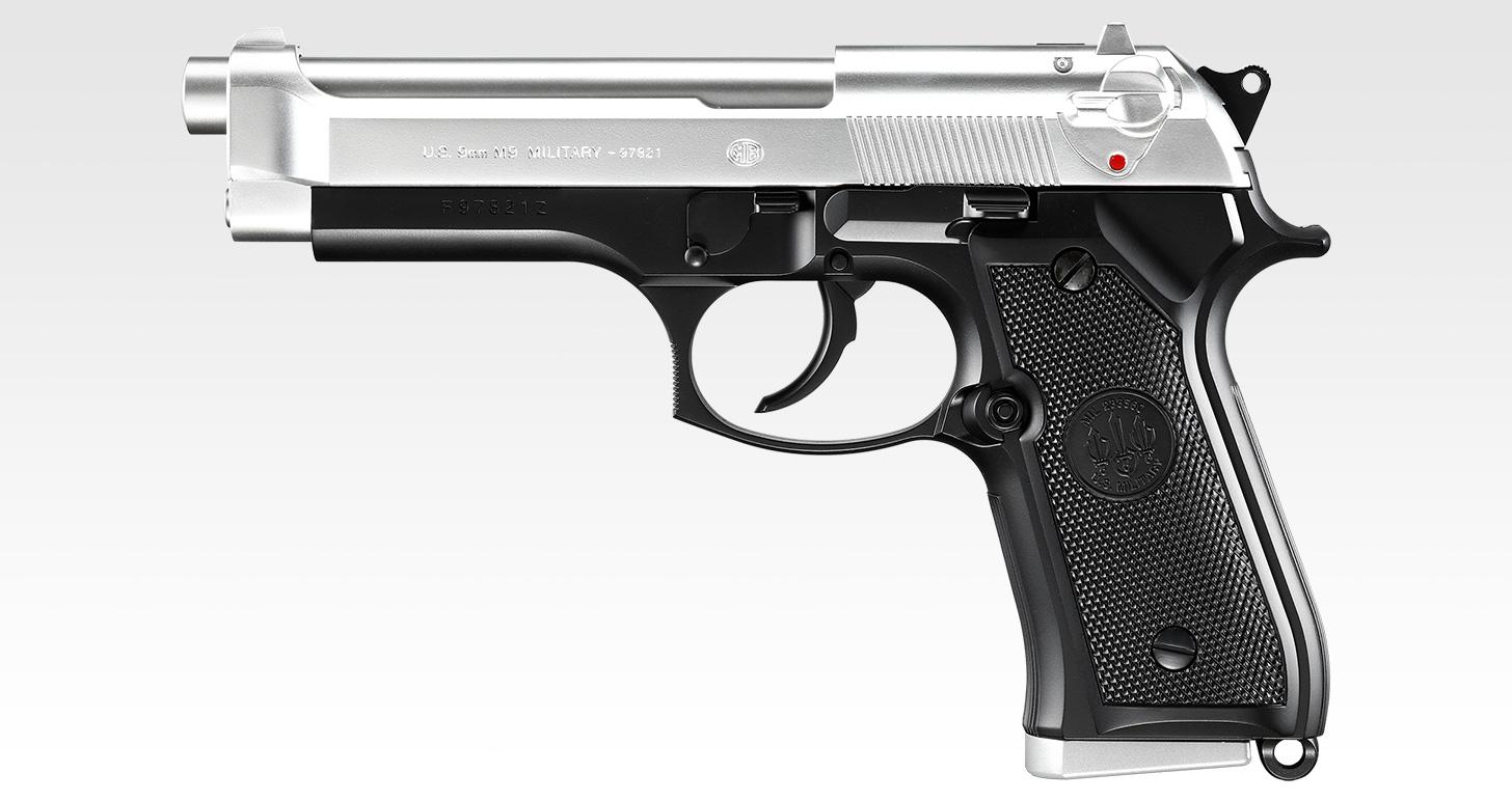 M92F スライドシルバー ステンレスタイプ【ハイグレード/ホップアップ】