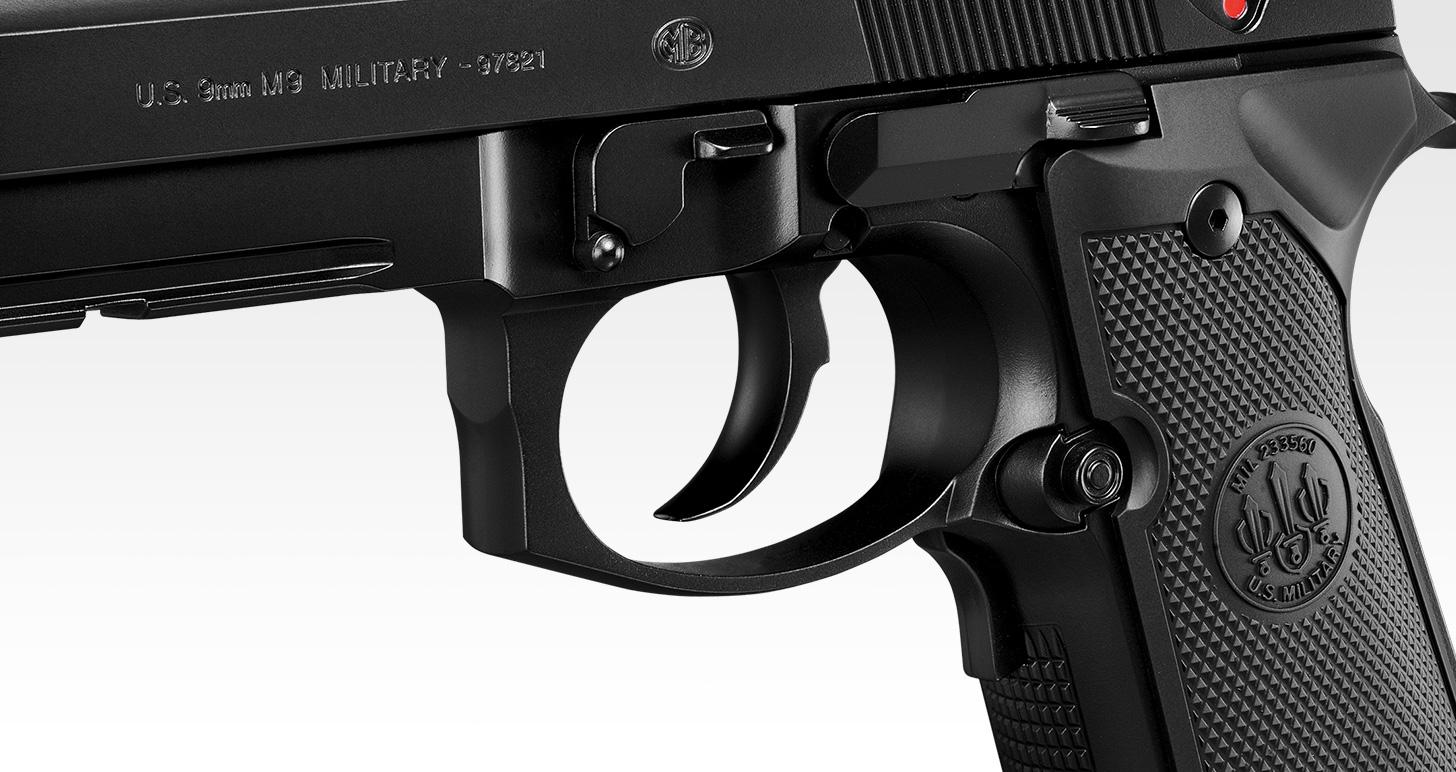 M9A1 ブラック / シルバーモデル